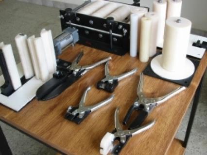 Narzędzia ręczne do produkcji liter blokowych / Hand tools for production Channel Letters