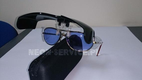 Okulary ochronne model 114/UV+IR / Safety glasses for glassblowers model 114/UV+IR
