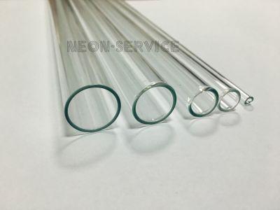 Rurki szklane bezbarwne bezołowiowe / Transparent Lead Free Glass Tubes