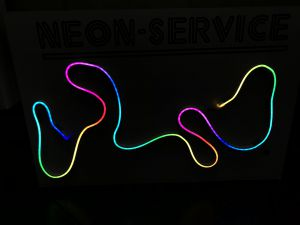 LED NEON mini Side View
